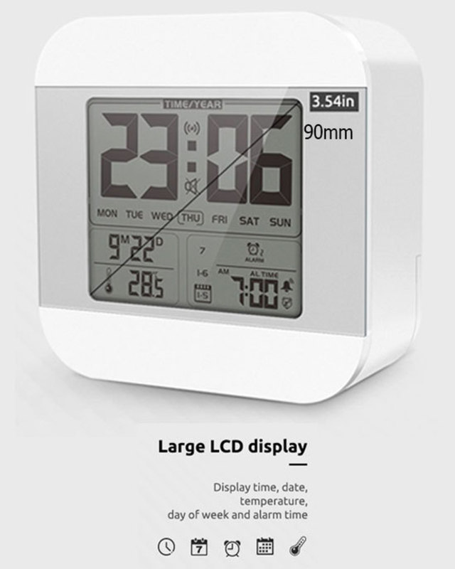 Smart Talking Clock Time and Temperature Speaking